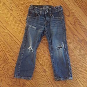 Baby Gap Distressed Denim Jeans